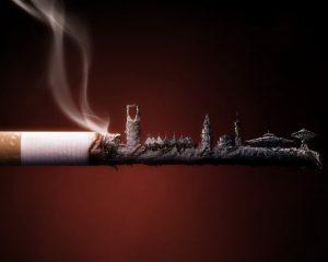 Viêm xoang do khói thuốc gây ra 1