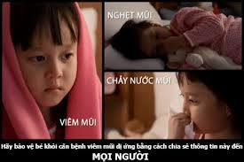 Viêm mũi dị ứng ở trẻ em 1