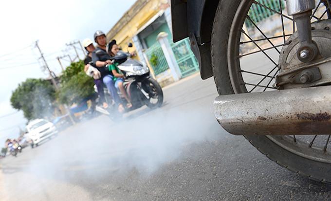 Viêm xoang mũi tăng vì ô nhiễm không khí 2