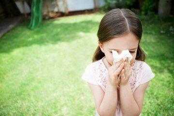 Chảy nước mũi ở trẻ em