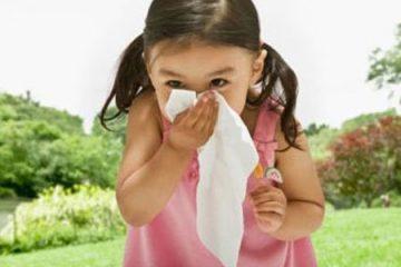 Cách chữa chảy nước mũi ở trẻ em