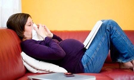 Triệu chứng viêm mũi dị ứng ở bà bầu 1