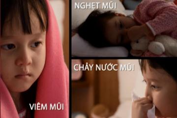 Triệu chứng viêm mũi dị ứng ở trẻ em