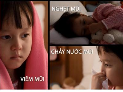 Triệu chứng viêm mũi dị ứng ở trẻ em 1