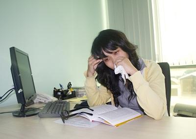 Ảnh hưởng nghẹt mũi tới tai 1