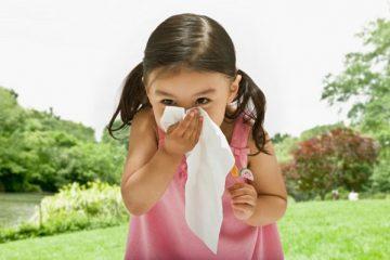 Phòng ngừa viêm mũi dị ứng cho trẻ