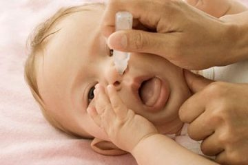Điều trị nghẹt mũi ở trẻ sơ sinh