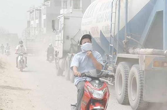 Khói bụi, ô nhiễm 1