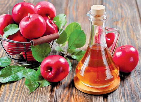 1. Xông hơi với giấm táo 1