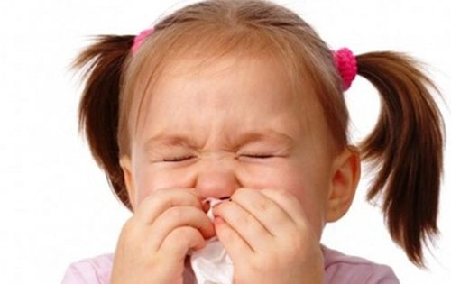 Trẻ bị sổ mũi kéo dài dễ dẫn đến bệnh viêm xoang 1