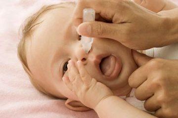 Mẹo hay trị ngạt mũi cho trẻ nhỏ